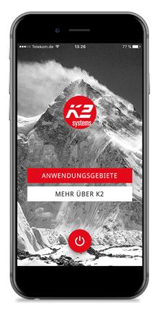K2_Startbildschirm_k2_app